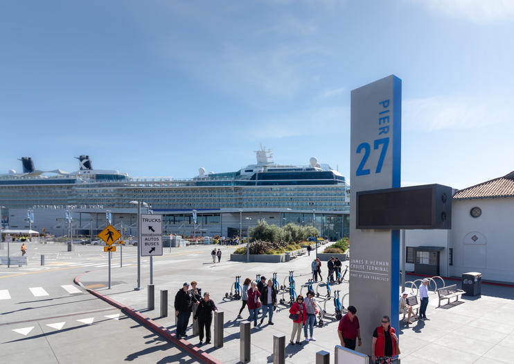 James R. Herman Cruise Terminal at Pier 27