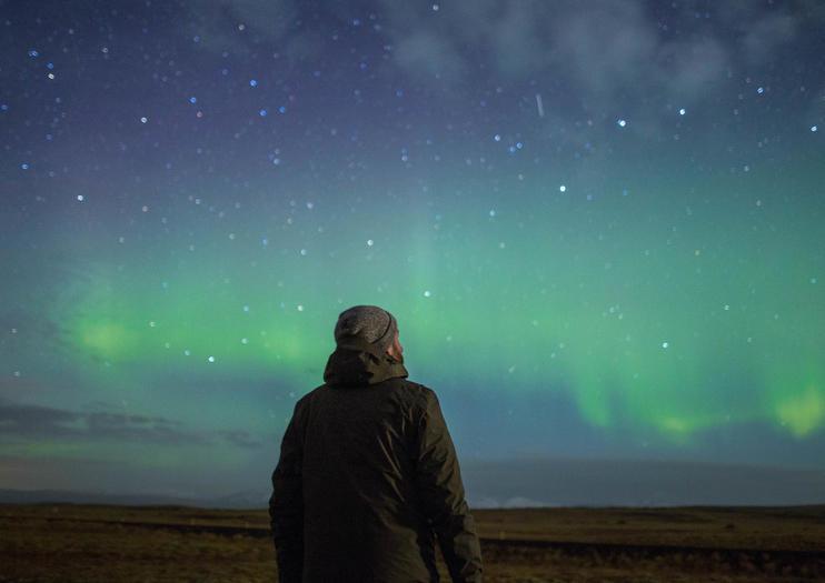 Zie het Noorderlicht in Noorwegen