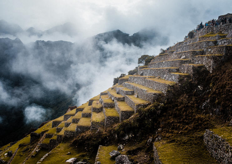 Inca Ruins in the Sacred Valley