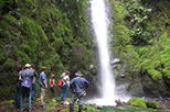 El Castillo Waterfall, Hike and Horseback Riding Private Tour