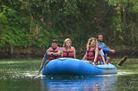 3-in-1 Arenal Volcano Combo Tour: River Safari Float with La Fortuna Waterfall and Volcano Hike