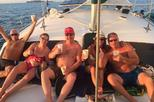 Sunset Catamaran Tour with Open Bar from Playa Hermosa-Coco
