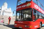 Ingresso para o ônibus vermelho com várias paradas 24h de Helsinki