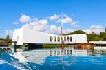 USS Missouri, USS Arizona Memorial, Pearl Harbor from Waikiki
