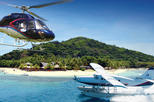 Mystery Helicopter or Seaplane Flight over the Fiji Islands