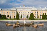 Excursão com jardins e Grande Palácio de Peterhof com passeio de barco pelo Neva