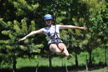 Zipline and Wildlife Adventure with Beach Resort Relaxation