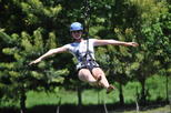 Zipline and Monkey Tour with Bananarama Resort Beach Time