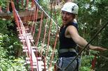 Selva maya eco adventure park ziplining hanging bridges rappelling in tulum 421411
