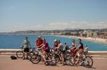 Excursão de bicicleta pela cidade de Nice