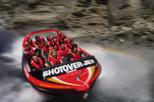 Passeio radical de barco a jato no Rio Shotover saindo de Queenstown