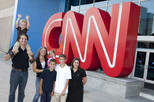 Excursão ao estúdio da CNN em Atlanta