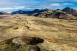 Voo de helicóptero de Reykjavik: Península Reykjanes e paisagens vulcânicas