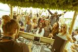 Festa em um barco em Ibiza incluindo open bar, almoço e esportes aquáticos