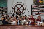 Rum Distillery Tour plus Beer Samples and Seven Mile Beach