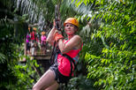 Private Cave Tubing and Zipline Adventure from Belize City