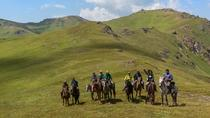 Extreme horseback riding tour at the Ketmen ridge, Almaty, Horseback Riding