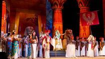 Opera Aida performance at the Giza Pyramids 2018, Cairo, Opera