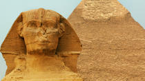 Pyramids of Giza Egyptian Museum Sphinx and Khan El Khalili Bazaar, Cairo, Private Sightseeing Tours