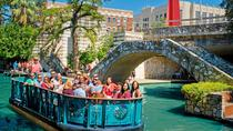 San Antonio River Walk Cruise, Hop-On Hop-Off Bus Tour and Tower of the Americas, San Antonio, ...