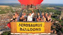 Hot Air Balloon Sunrise or Sunset Champagne Flight from Shaftesbury, South West England, Balloon...