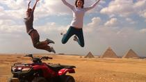 4-Hour Quad Bike Tour around Giza Pyramids from Cairo, Cairo
