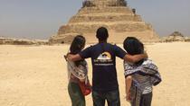 CAIRO LAYOVER TOURS TO GIZA PYRAMIDS MEMPHIS SAKKARA DAHSHUR PYRAMIDS AND BAZAAR, Cairo, Layover...