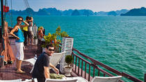 Private Tour: Halong Bay day trip with Lunch Cruise Transportation Caving Artisan glass making and ...