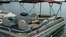 19' Pontoon Boat Rental in Riviera Beach Marina, West Palm Beach, Boat Rental