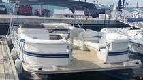 22' Pontoon Boat Rental in Riviera Beach Marina for 12 Passengers, West Palm Beach, Boat Rental