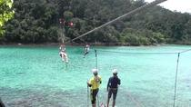 The Coral Flyer Zipline Adventure at Tunku Abdul Rahman Park from Kota Kinabalu, Kota Kinabalu, ...