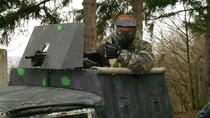 Paintball con ambientazione e museo di storia militare a Lešany, pranzo incluso, Prague, 4WD, ATV & Off-Road Tours