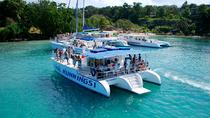 Jamaika Dunn's River Falls Party-Bootstour mit Schnorcheln, Ocho Rios, Day Cruises