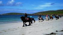 Day Tour: Connemara Wild Atlantic Way Guided Beach Horseback Ride from Galway, Galway