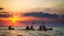 Guided half-day sunset kayaking in Connemara Wild Atlantic Way Galway coastline, Western Ireland, ...