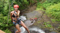 Adrenaline Canyoning in Paradise, Jaco, Ziplines