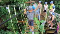 Roatan Ziplines, Beaches and Monkey Park, Roatán