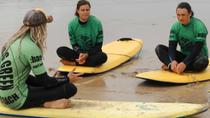 Surf Lesson on Fistral Beach, Newquay, Surfing & Windsurfing