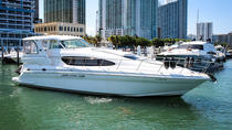 50' Sea Ray Charter with Captain and Mate, Miami, Boat Rental