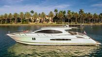 75' Lazzara LSX Charter with Captain and Mate, Miami, Boat Rental