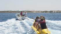 Hurghada Utopia Island by Glass Bottom Boat enjoy Snorkeling and Banana Boat, Hurghada, Glass ...