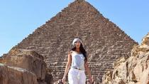 Journey inside the great pyramid and solar boat museum in Giza with lunch included, Cairo, Private...