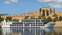 River Cruise Tour on the Nile Luxor to Aswan- Sightseeing & Guide & Meals Inc, Luxor, Day Cruises