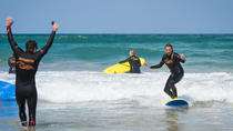 Group Surf Lesson at Fistral beach, Newquay, Surfing Lessons