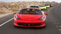 Exotic Driving Experience at Lake Mead, Las Vegas, Adrenaline & Extreme