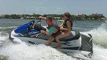2 Hour Jet Ski Tour of Honeymoon and Caladesi Island, Clearwater, Waterskiing & Jetskiing