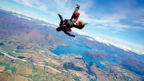 9000ft Tandem Skydive in Wanaka, Wanaka, Air Tours