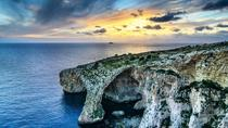 Blue Grotto and Sunday Market at Marsaxlokk Fishing Village Tour, Valletta