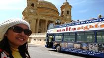 Malta's Panoramic North Hop On Hop Off Tour, Valletta, null