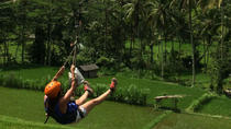 Flying Fox and White-Water Rafting Adventure in Bali, Ubud